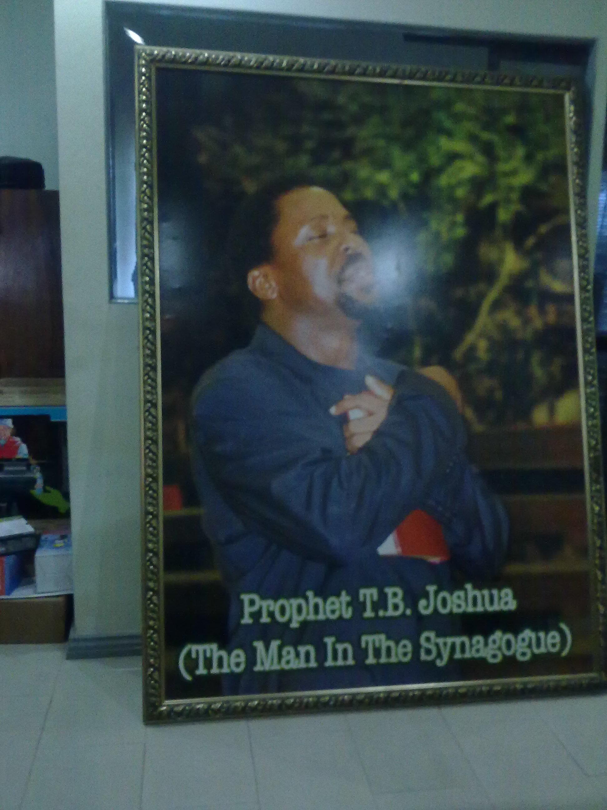 Comment rencontrer le prophete tb joshua